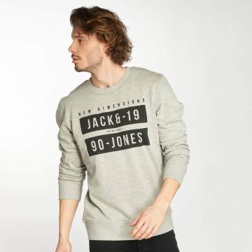 Jack & Jones Swetry jcoBlock szary