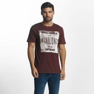Jack & Jones T-paidat jorStood punainen