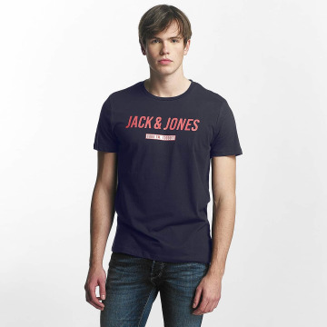 Jack & Jones T-paidat jcoLinn sininen