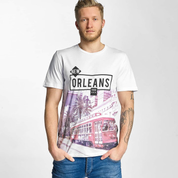 Jack & Jones T-paidat jjorBolt valkoinen
