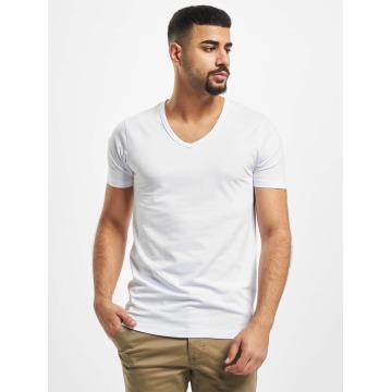 Jack & Jones T-shirt Core Basic V-Neck bianco