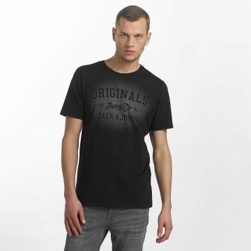 Jack & Jones T-Shirt jorStencild black