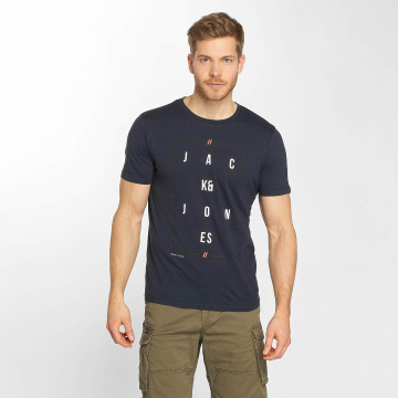 Jack & Jones T-Shirt jcoYouth blau