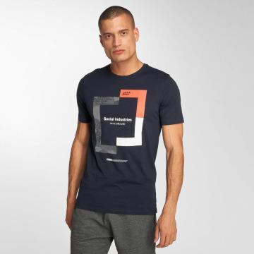 Jack & Jones T-Shirt jcoBoshof blue