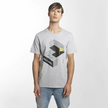 Jack & Jones T-Shirt jcoMateo grau