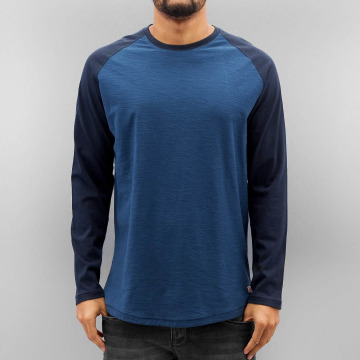 Jack & Jones T-Shirt manches longues jorNew Stan bleu