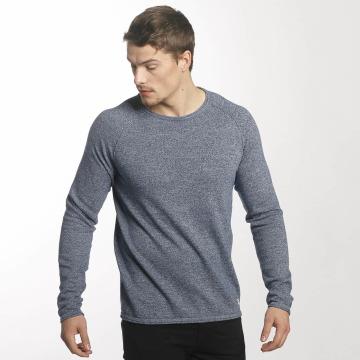 Jack & Jones T-Shirt manches longues jjvcUnion Knit bleu