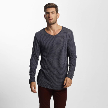 Jack & Jones T-Shirt manches longues JORLoose bleu