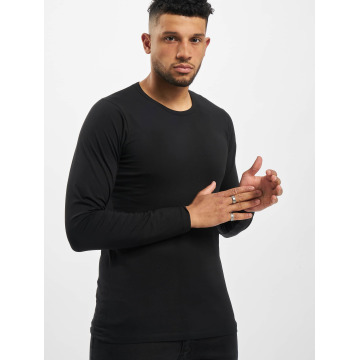 Jack & Jones T-Shirt manches longues Core Basic noir