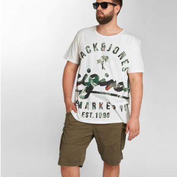 Jack & Jones T-Shirt jorBacked weiß