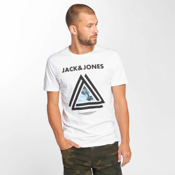 Jack & Jones T-Shirt jcoLax weiß