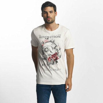 Jack & Jones t-shirt Scully wit