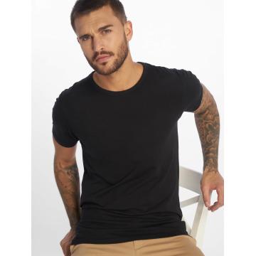 Jack & Jones T-Shirty Basic O-Neck czarny