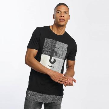 Jack & Jones T-Shirty jcoSnap czarny