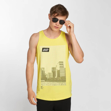 Jack & Jones Tank Tops jcoBurg keltainen