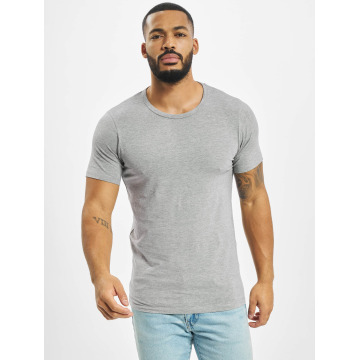Jack & Jones Tričká Basic O-Neck šedá