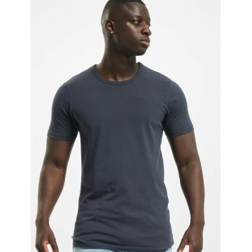 Jack & Jones Tričká Basic O-Neck modrá