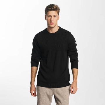 Jack & Jones trui jcoUtility Knit zwart