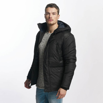 Jack & Jones Winter Jacket jcoGraf black