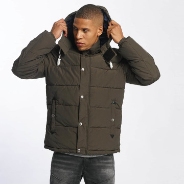 Jack & Jones winterjas joFigure olijfgroen