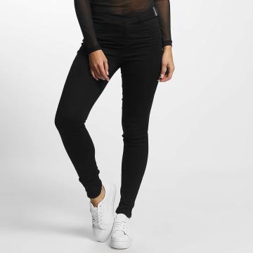 JACQUELINE de YONG High Waisted Jeans jdySkinny Ulle black