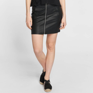 JACQUELINE de YONG Kjol jdyBounty Faux Leather svart