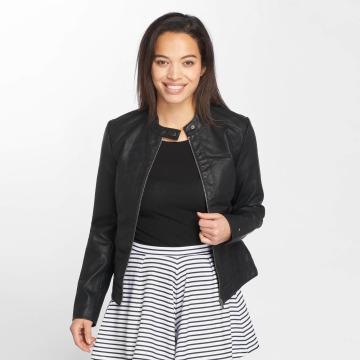JACQUELINE de YONG Leather Jacket jdyDallas black