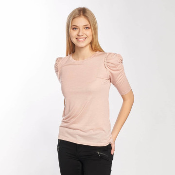 JACQUELINE de YONG Longsleeve jdyFanny 2/4 Puff Sleeve rosa