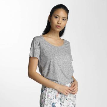 JACQUELINE de YONG T-Shirt jdyLinette grau