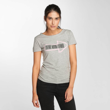 JACQUELINE de YONG T-Shirt jdyRainbow grau