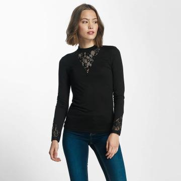 JACQUELINE de YONG T-Shirt manches longues jdyFabia noir