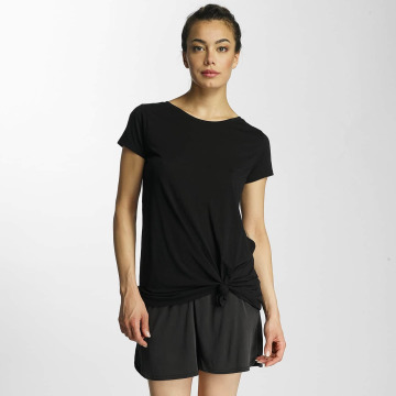 JACQUELINE de YONG T-Shirt jdyNoho Knot schwarz