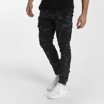 John H Спортивные брюки Biker Camouflage камуфляж