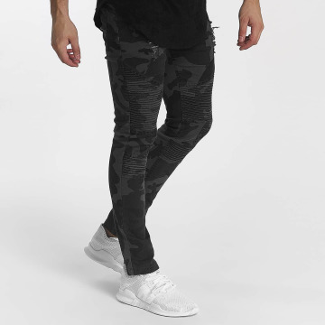 John H Jeans ajustado Camo camuflaje
