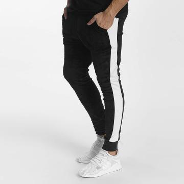 John H Pantalón deportivo Stripe negro