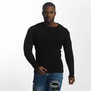 John H Pullover Knit black