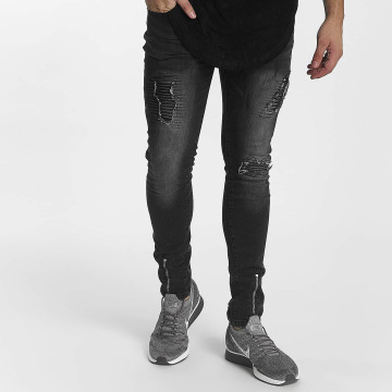 John H Slim Fit Jeans Zipper черный