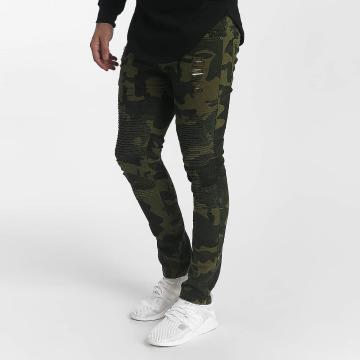 John H Slim Fit Jeans Destroyed camouflage