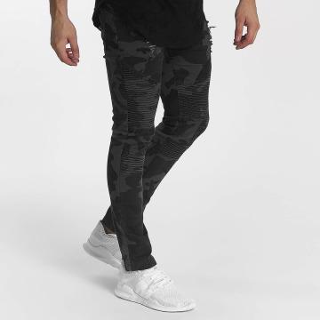 John H Slim Fit Jeans Camo kamouflage
