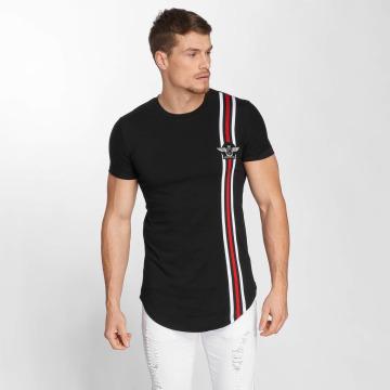 John H t-shirt Wing Logo zwart
