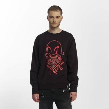 Joker Pullover Clown Brand schwarz
