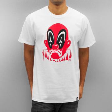 Joker T-Shirt Deadpool Clown blanc
