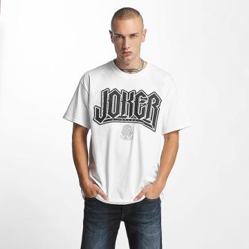 Joker T-Shirt Jokes blanc
