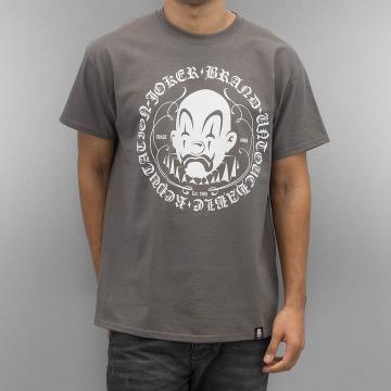 Joker t-shirt Circle Clown grijs