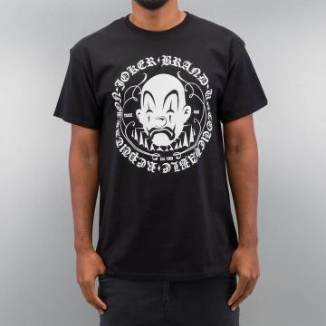 Joker T-Shirt Circle Clown schwarz