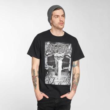 Joker T-Shirt Gun schwarz