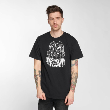 Joker T-Shirt Mexico Clown schwarz