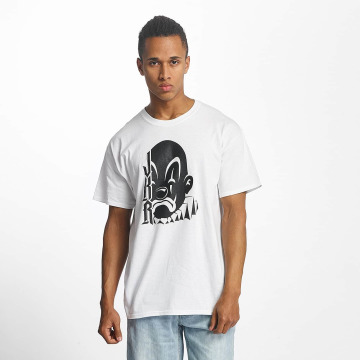 Joker T-shirt Clown vit