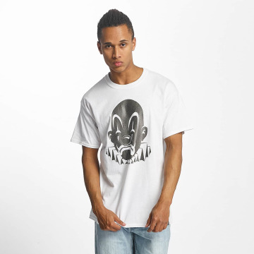Joker T-Shirt Basic Clown weiß