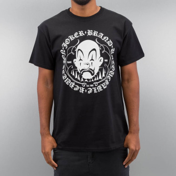 Joker t-shirt Circle Clown zwart